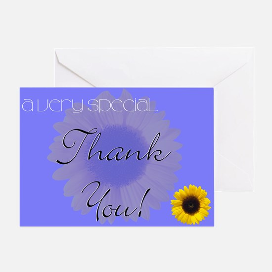 Thank You (sunflower) Greeting Card