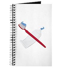 Tooth Brush & Paste Journal