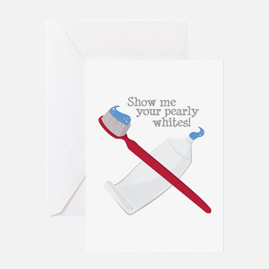 Pearly Whites Greeting Cards