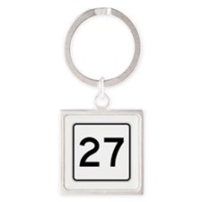 State Route 27, Maine Square Keychain