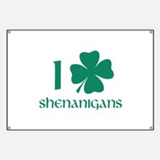 I Shamrock Shenanigans Banner