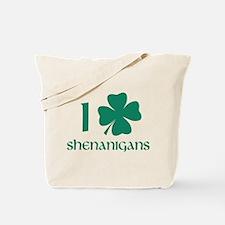 I Shamrock Shenanigans Tote Bag