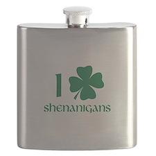 I Shamrock Shenanigans Flask