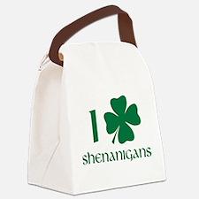 I Shamrock Shenanigans Canvas Lunch Bag