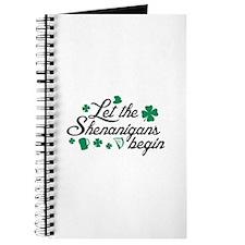 Let The Shenanigans Begin Journal
