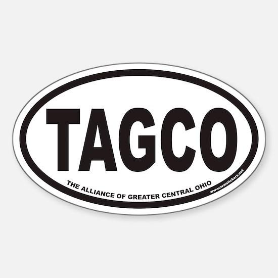 TAGCO Euro Oval Stickers