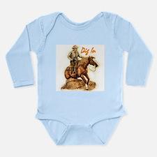 Unique Slides Long Sleeve Infant Bodysuit