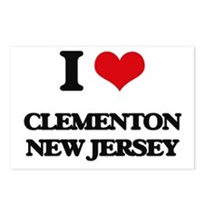 I love Clementon New Jers Postcards (Package of 8)
