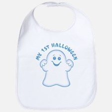 First Halloween [Baby Ghost] Bib