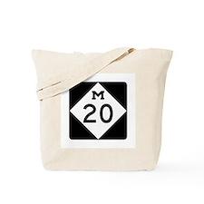 M-20, Michigan Tote Bag
