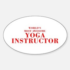 WORLD'S MOST AWESOME Yoga Instructor-Bod red 350 S