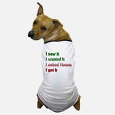 I Asked Nonna Dog T-Shirt