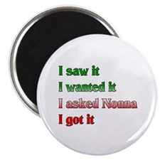 I Asked Nonna Magnet