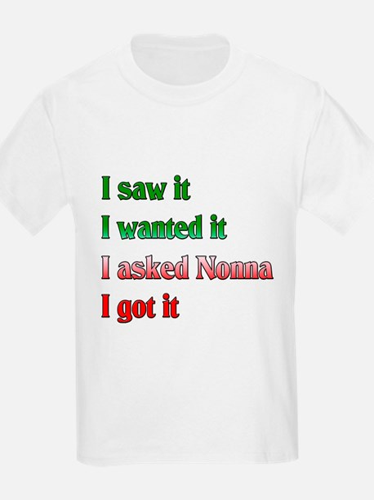 I Asked Nonna T-Shirt