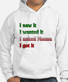 I Asked Nonna Hoodie