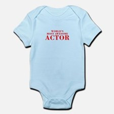 WORLDS MOST AWESOME Actor-Bod red 300 Body Suit