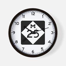 M-25, Michigan Wall Clock
