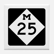 M-25, Michigan Tile Coaster