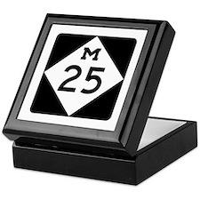 M-25, Michigan Keepsake Box