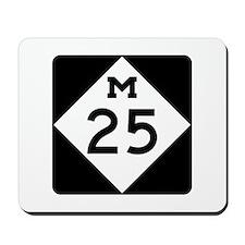 M-25, Michigan Mousepad