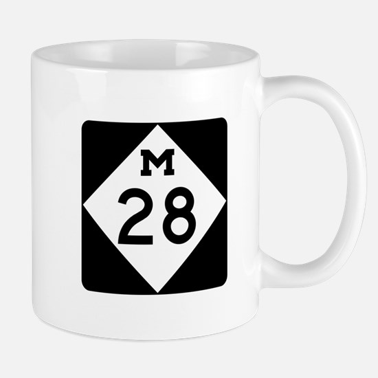 M-28, Michigan Mug