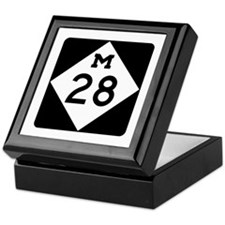M-28, Michigan Keepsake Box