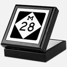 M-28, Michigan Keepsake Box