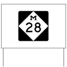 M-28, Michigan Yard Sign