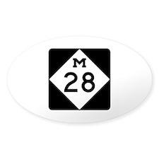 M-28, Michigan Decal