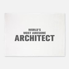 WORLDS MOST AWESOME Architect-Akz gray 500 5'x7'Ar