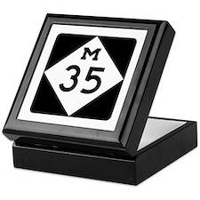M-35, Michigan Keepsake Box