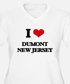 I love Dumont New Jersey Plus Size T-Shirt
