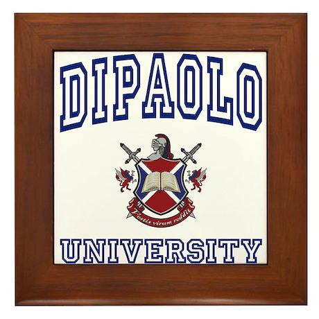 DIPAOLO University Framed Tile