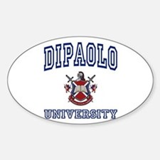 DIPAOLO University Oval Decal