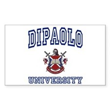 DIPAOLO University Rectangle Decal