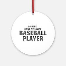 WORLDS MOST AWESOME Baseball Player-Akz gray 300 O