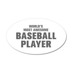 WORLDS MOST AWESOME Baseball Player-Akz gray 300 W