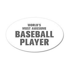 WORLDS MOST AWESOME Baseball Player-Akz gray 300 W