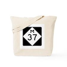 M-37, Michigan Tote Bag