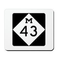 M-43, Michigan Mousepad