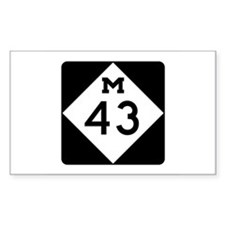 M-43, Michigan Decal