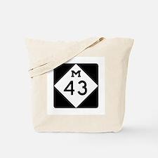 M-43, Michigan Tote Bag
