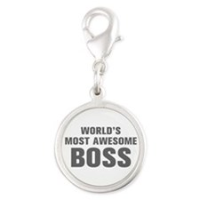 WORLDS MOST AWESOME Boss-Akz gray 500 Charms