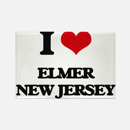 I love Elmer New Jersey Magnets