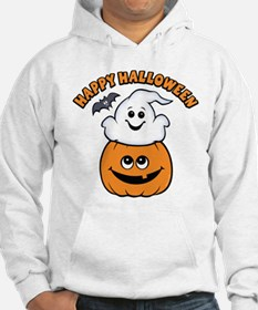 Ghost In Pumpkin Jumper Hoody