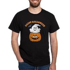 Ghost In Pumpkin T-Shirt