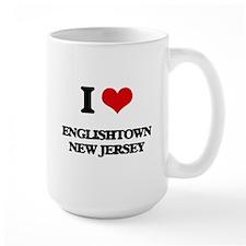 I love Englishtown New Jersey Mugs