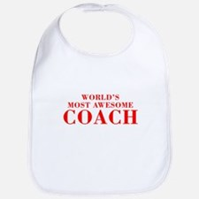 WORLDS MOST AWESOME Coach-Bod red 300 Bib