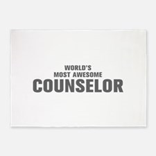 WORLDS MOST AWESOME Counselor-Akz gray 500 5'x7'Ar