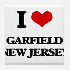 I love Garfield New Jersey Tile Coaster